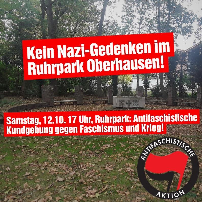 Mahnmal Ruhrpark: Für ein würdiges Gedenken ohne Nationalismus