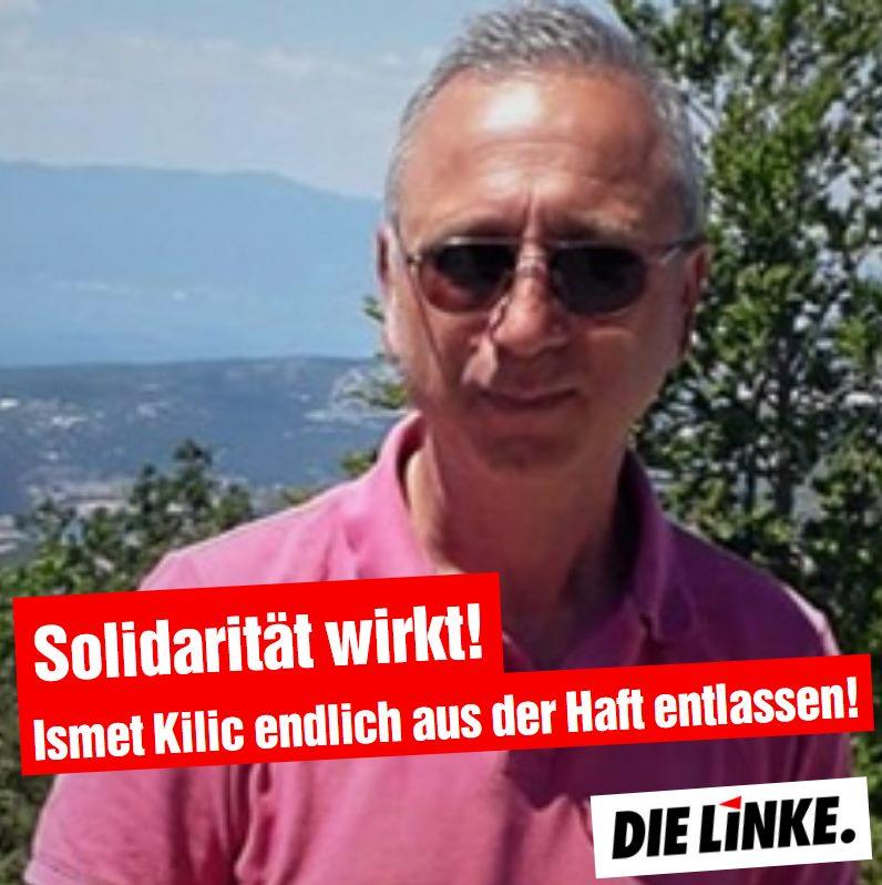 Ismet Kilic kommt nach fast drei Monaten endlich frei