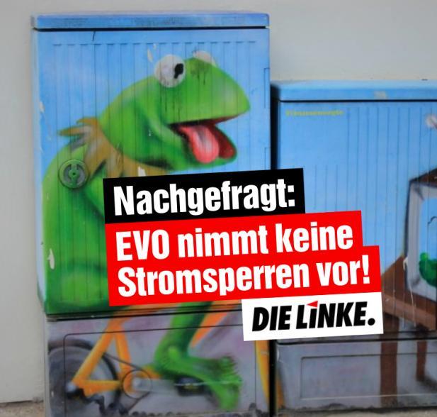 Nachgefragt: EVO nimmt keine Stromsperren vor