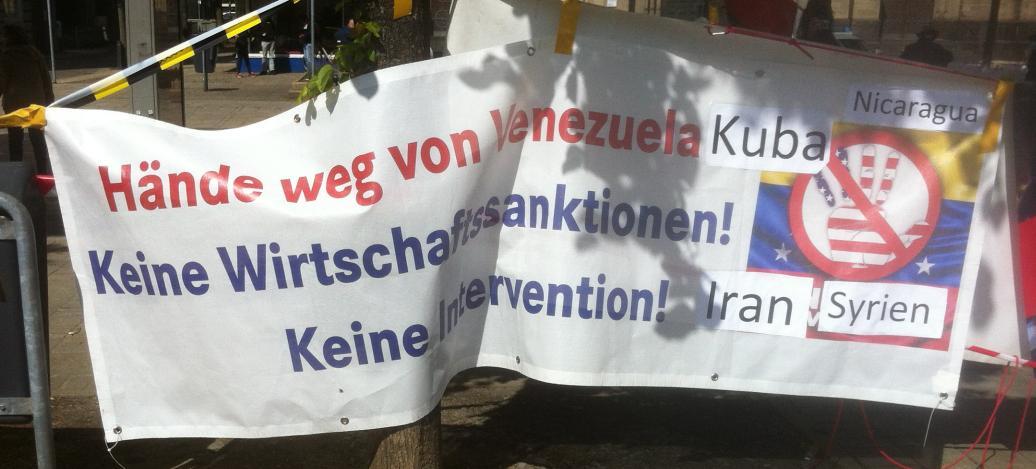 Redebeitrag 1. Mai: Schluss mit Sanktionen des Westens