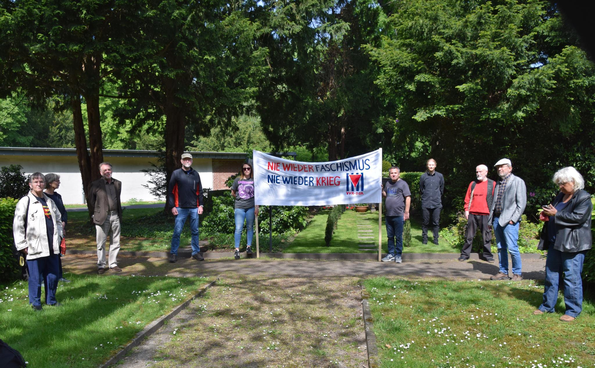 VVN-BdA: Gedenkveranstaltung zum Tag der Befreiung