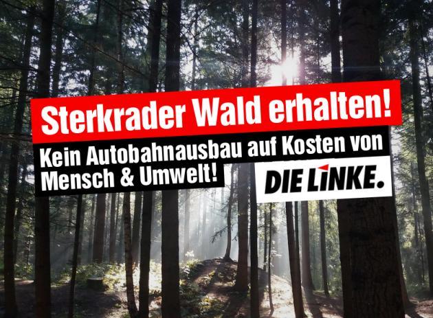 DIE LINKE.LISTE: Sterkrader Wald erhalten