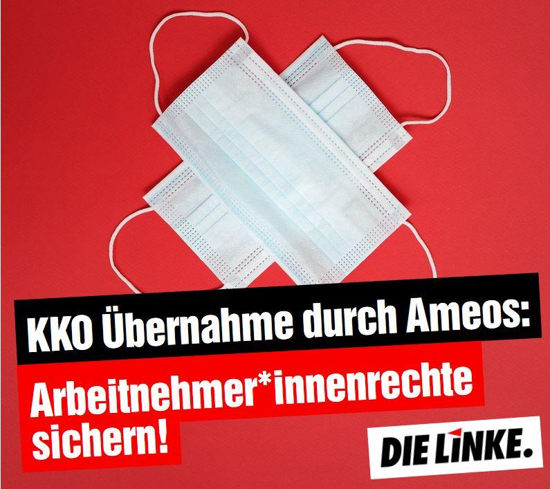 KKO Übernahme durch Ameos: Arbeitnehmer*innenrechte sichern