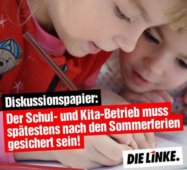 Positionierung der LINKEN in Oberhausen zu Schul- und Kita-Schließungen