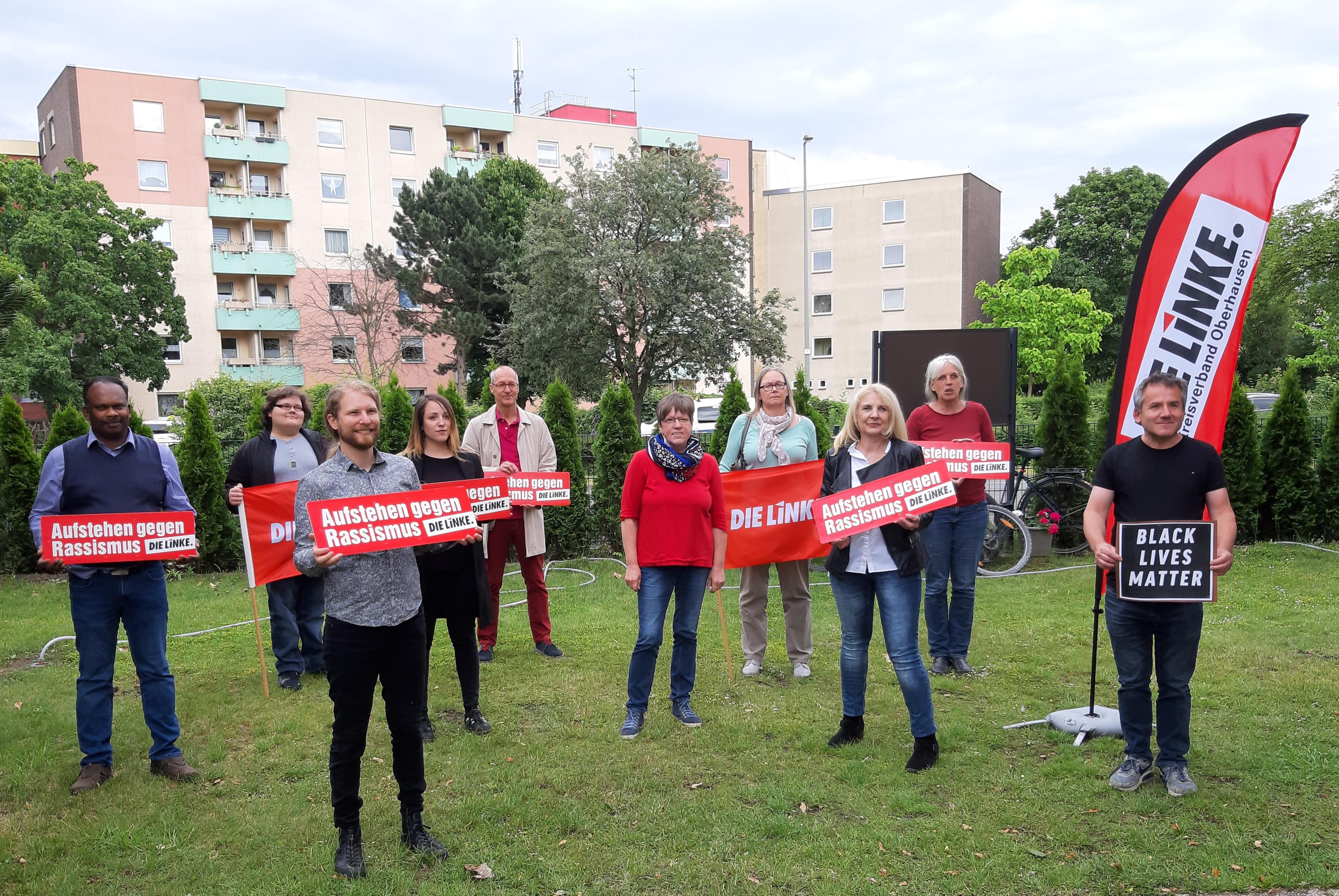 DIE LINKE stellt ihre Kandidat*innen auf:  Gemeinsam für ein soziales und ökologisches Oberhausen