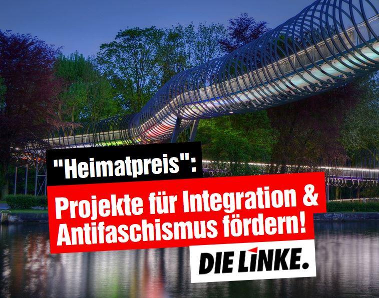 DIE LINKE.LISTE: Heimatpreis muss fortschrittliche Initiativen fördern!