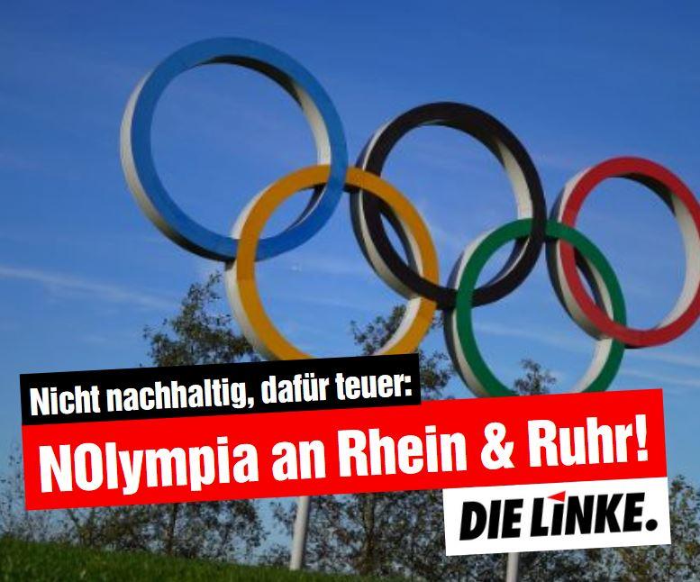 DIE LINKE.LISTE: Kein Olympia im Ruhrgebiet