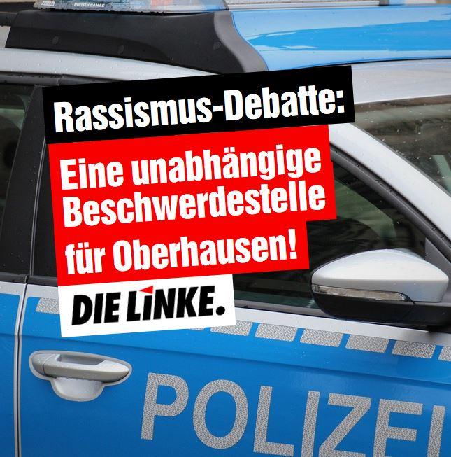 Rassismus-Debatte:EineunabhängigeBeschwerdestellefürOberhausen