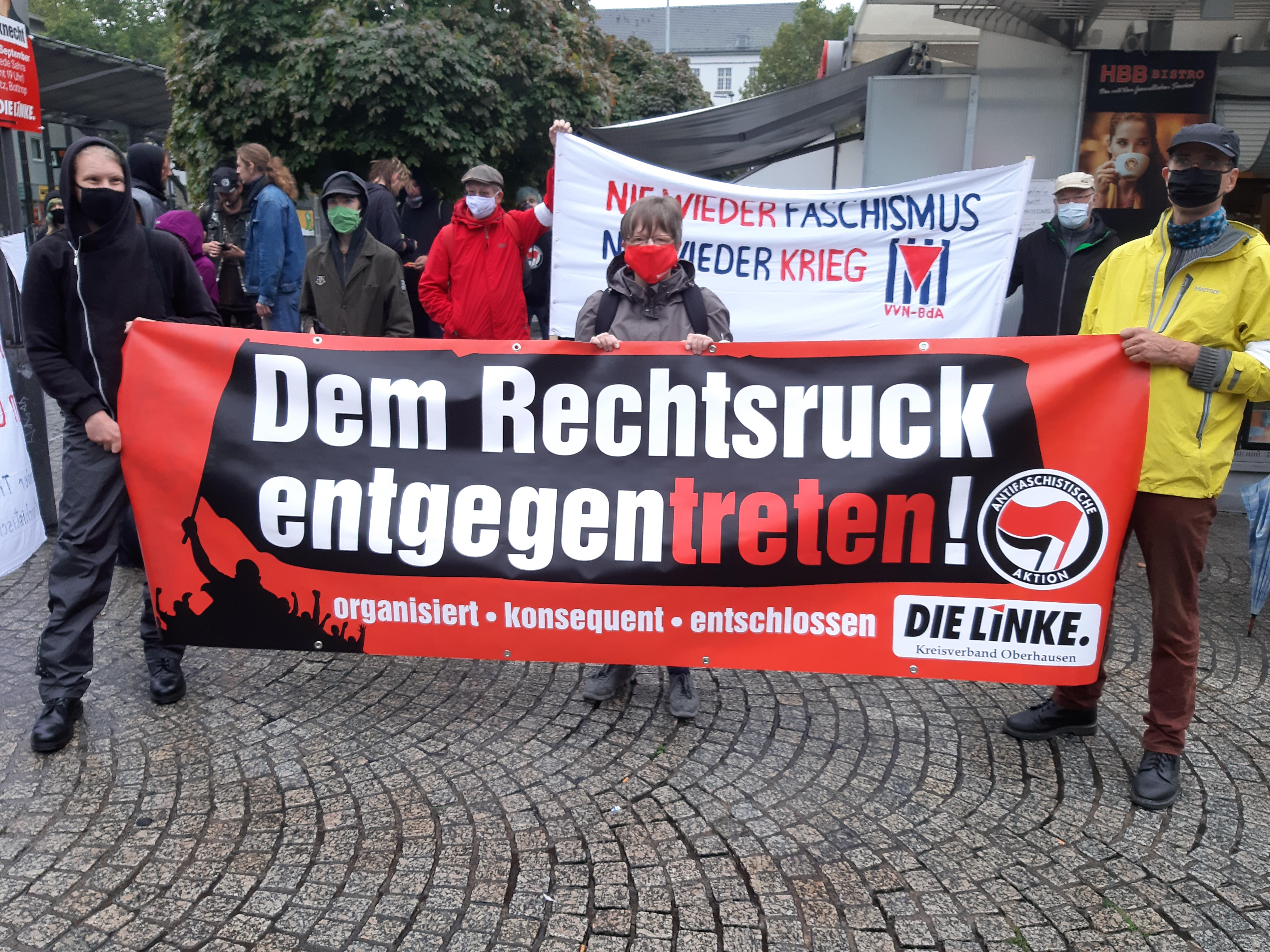 """Redebeitrag auf der """"Es Reicht"""" Demonstration gegen Rechts"""