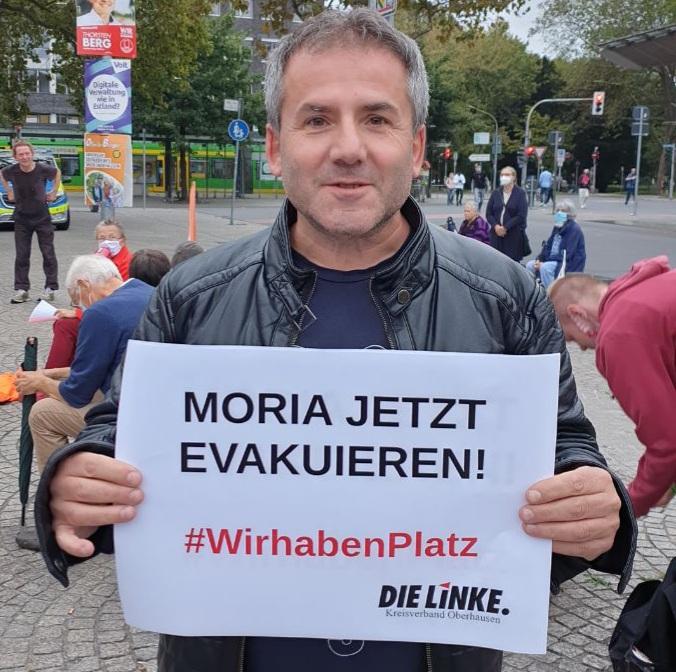 Moria-Brand: Oberhausen muss Menschen aufnehmen!