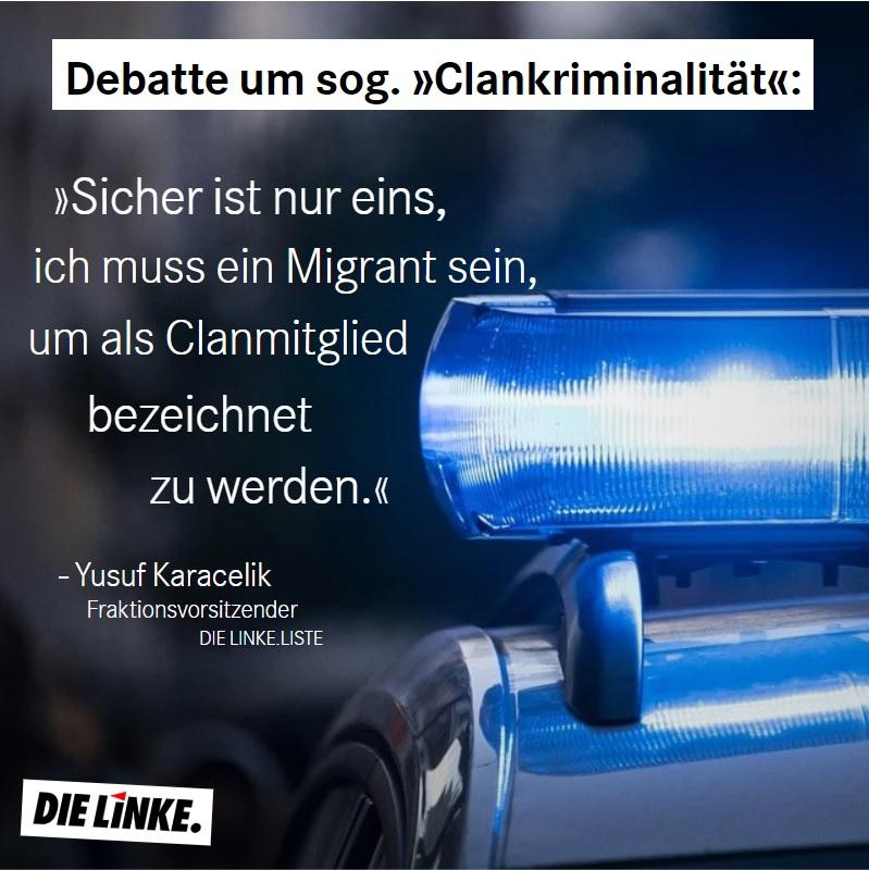 """Ratsrede zur Sicherheitskooperation Ruhr gegen """"Clan-Kriminalität"""""""