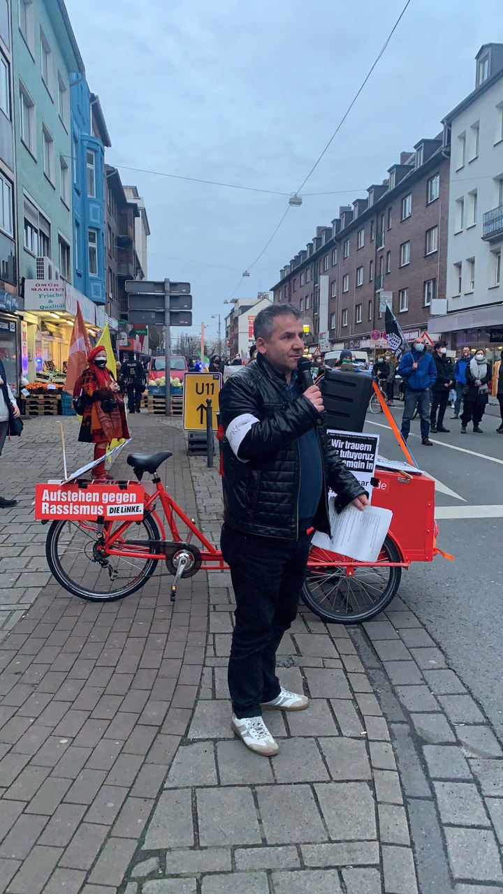 Redebeitrag auf der Hanau Gedenkdemonstration