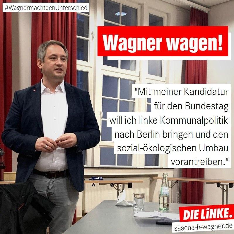 LINKEwillWagnerwagen–DinslakenersollfürDIELINKEinden Bundestag