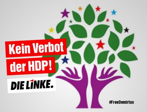 Rede zum 18. März: Kein Verbot der HDP!
