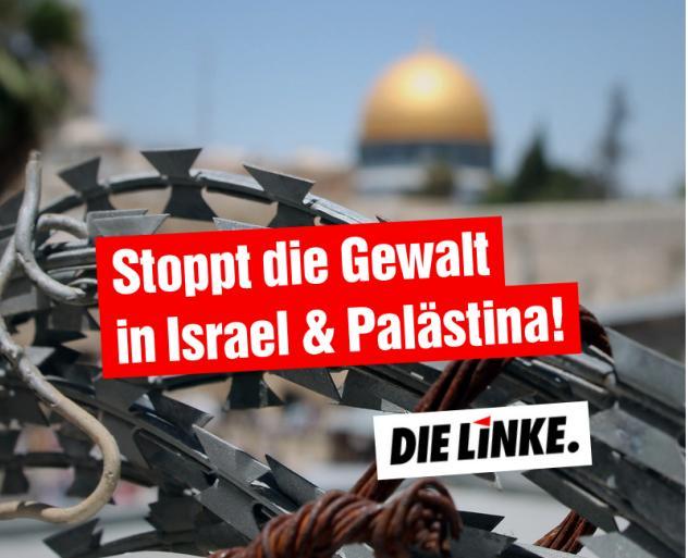 Stoppt die Gewalt in Israel & Palästina!