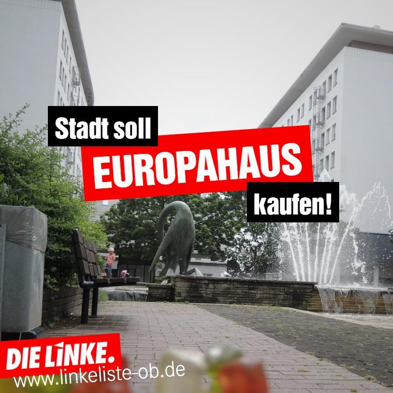 DIELINKE.LISTE:DieStadtsolldasEuropahauskaufen!