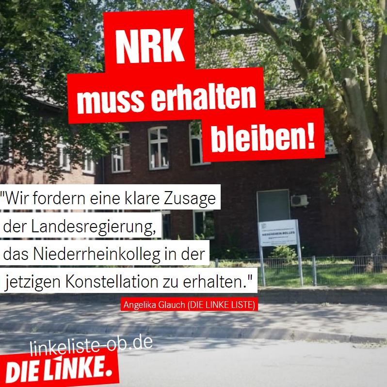 DIELINKE.LISTE:Niederrheinkollegmusserhaltenbleiben!