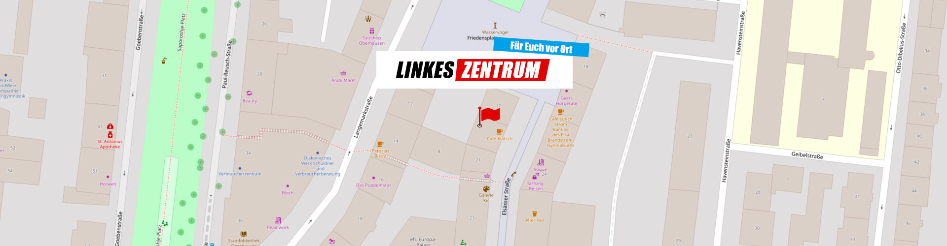 Map Linkes Zentrum